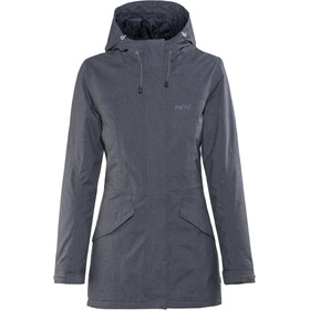 Meru Kristianstad Waterproof Padded Coat Damen navy melange